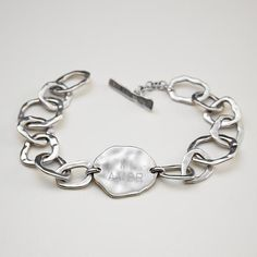 personalizable tag bracelet
