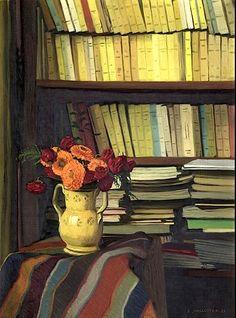 La bibliothèque / 1921, Félix Vallotton