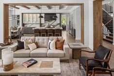 David Charlez Designs & Denali Custom Homes created this spectacular mountain modern style home on the shores of Lake Minnetonka, Minnesota. Lakeside Living, Floor Plan Layout, Modern Style Homes, Mountain Modern, Interior Design Studio, Lounge Areas, Architectural Elements, Custom Homes, Family Room