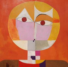 Copy of a Paul Klee Painting  Senecio  Head  by JohnKlineArtwork, $250.00