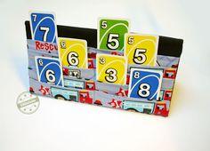 Kartenhalter, Kartenspielen mit Kindern
