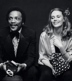 1977 Quincy Jones and Peggy Lipton