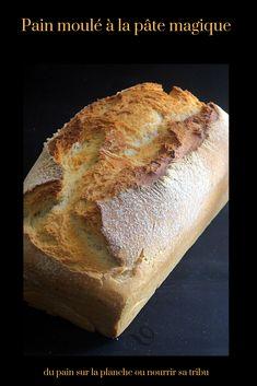 Pain maison moulé à la pâte magique Cooking Bread, Cooking Chef, Yummy World, Cordon Bleu, Eat Smarter, Naan, Ciabatta, Street Food, Food Pictures