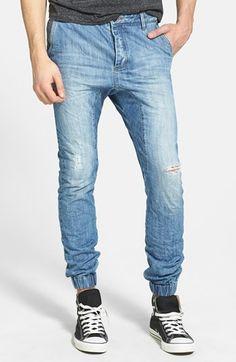 ZANEROBE 'Slingshot' Denim Jogger Pants available at #Nordstrom