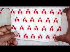 324990198d878 Double Colour Design for Baby Sweaters (Hindi) - YouTube
