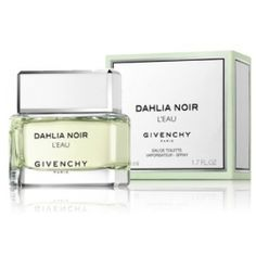"""Givenchy is generally not on my top ten list for scents BUT they have scored with """"Dahlia Noir L'Eau"""" An edgy flowery springtime scent. I always receive compliments wearing this perfume and predict it will be one of the top selling scents this summer.    ~3.0 fl.oz~ $84"""