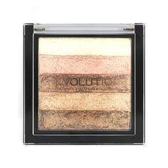 Makeup Revolution Vivid Shimmer Brick - Radiant  - Click to view a larger image