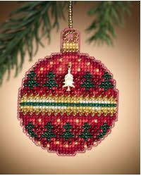 Ruby Forest Ornament