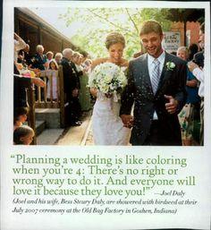 My wedding planning inspiration