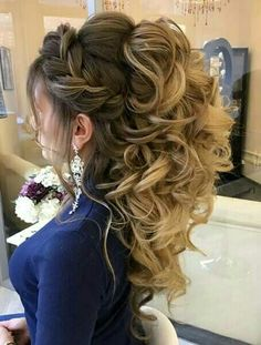 Beautifull wedding hair style