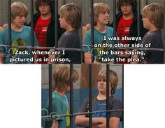 Zack And Cody Funny, Zack Y Cody, Sweet Life On Deck, Old Disney Tv Shows, Disney Original Movies, Old Disney Channel, Dylan And Cole, Bughead Riverdale, Disney Theory