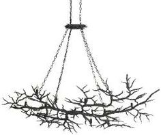 rustic style aspen chandelier--brings natural style to your home
