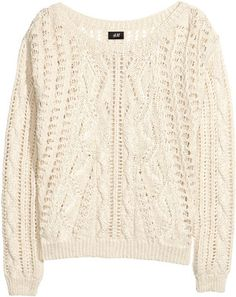 H&M Pattern-knit jumper