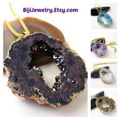 $39.00 #White #Geode #Druzy #Pendant #Necklace, #White Drusy Necklace, Druze Agate Gold Chainmaille Necklace, #Gold Edged Hollow Center Druzy Slice #bijiJewelry #etsy https://www.etsy.com/listing/224946555/white-geode-druzy-pendant-necklace-white?ref=shop_home_active_17&ga_search_query=pendant