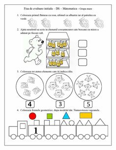 Fisă de evaluare Letter Tracing Worksheets, Kids Math Worksheets, Tracing Letters, Insect Activities, Motor Skills Activities, Toddler Activities, Numbers Preschool, Math For Kids, Vocabulary Words