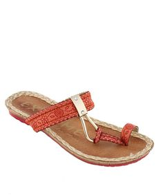 Beautifully Bohemian, these sandals surround every step with laid back style. Woven patterns on the straps make the perfect enhancement.Man-made materialsImported