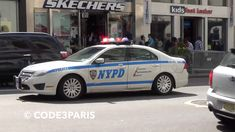 NYPD Police Cars -- Surge Drill