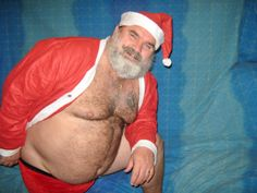 Naughty Santa, I Really Love You, Christmas And New Year, Daddy, Cute, Swimwear, Photography, Men, Bathing Suits