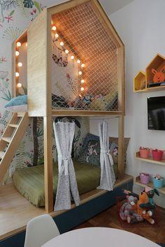 funny bunk beds kids for your child Baby Bedroom, Baby Room Decor, Girls Bedroom, Bedroom Decor, Bedroom Ideas, Kids Bedroom Designs, Playroom Design, Kids Room Design, Kids Interior