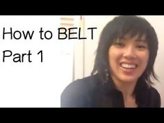How to Belt -Singing Techniques Part 1 Vocal Lessons, Singing Lessons, Singing Tips, Singing Techniques, Art Techniques, Vocal Training, Vocal Exercises, My Singing, Vocal Coach
