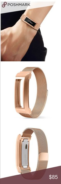 Fitbit Alta Rose Gold Mesh Band. Fitbit Alta Rose Gold Mesh Band. Magnetic closure clasp. Never used. Brand new in box! Accessories
