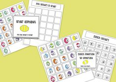 Letter File Folder Activities for Easter {work on letter awareness and recognition!} by theautismhelper.com