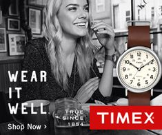 20% off site wide until 02/11/17. Hurry to secure your Valentines Day gift. http://discountwatchstores.com/great-opportunities-timex/