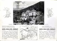 In the spring of 1945 we were already very modern: Lift, central heating, running water in all rooms and even suites with bathrooms!