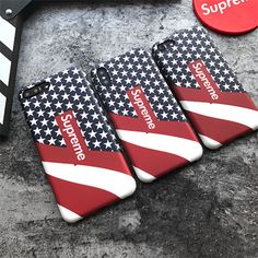 Fashion Supreme Star Stylish Cool Cute Soft Back Case For iPhone X 6 7 8 Plus Supreme Case, Portable, Hypebeast, Cell Phone Accessories, Toms, Iphone Cases, Louis Vuitton, Cool Stuff, Stylish