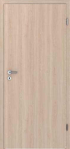 PRÜM Zimmertür CPL Pera Creme Holz Längs Röhrenspanplatten Rundkante