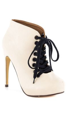 Lace-Up Booties ♥