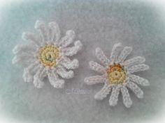 Mirtusz : Örökszép-virág - Nőnapra (is)    horgolt százszorszép Floral, Flowers, Jewelry, Florals, Jewlery, Jewels, Jewerly, Jewelery, Royal Icing Flowers