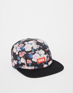 Just when I thought I didn't need something new from ASOS, I kinda do Asos, 5 Panel Cap, Snap Backs, Floral Prints, Shopping, Black, Florals, Tattoos, Shirts