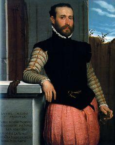 Portrait of Prospero Alessandri, Giovanni Battista Moroni, Private Collection | by renzodionigi