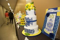 Final Projects on display: Spring Wedding Cakes.  L'Art du Gâteau Graduation Showcases Edible Artistry | The French Pastry School