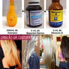 O shampoo bomba é uma mistura de vitaminas que serão colocadas no shampoo sem sal, uma dúvida muito comum é se pode usar shampoo com sal? A resposta é não, pois vai