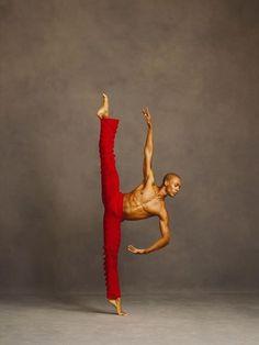 Yannick Lebrun of Alvin Ailey Dance
