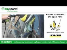How to use a Delta racer attachment on a Karcher pressure washer, BuySpares 'how to videos'.
