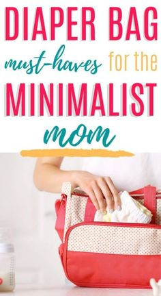 Diaper bag essentials for your newborn baby! This is a perfect checklist for the minimalist mom and it takes the guesswork out of what to pack in a diaper bag. This list includes suggestions for things to pack for mom and baby and gives recommendations for the best diaper bags around – backpack style and over the shoulder. These cute diaper bags help with organization of all the baby things and are big enough for 2 kids, the breastfeeding mama and the bottle-feeding mom as well.  #baby… Diaper Bag Checklist, Diaper Bag Essentials, Cute Diaper Bags, Best Diaper Bag, Baby Boy Or Girl, Mom And Baby, Bottle Feeding, Pregnancy Workout, Baby Bottles
