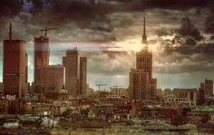 Warsaw Skyline #pkin #warsaw