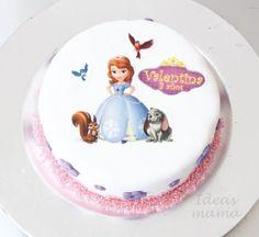 Tarta princesa Sofia / Sophia the first cake