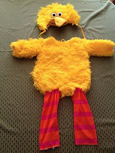 Big Bird Costume Officially Licensed Sesame Street Costume Size 1 2 Toddler | eBay