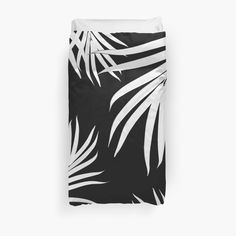 """Palm Leaves Pattern Summer Vibes #4 #tropical #decor #art"" Duvet Covers by anitabellajantz 