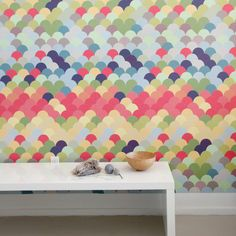 Fishwall Pattern Wall Tiles