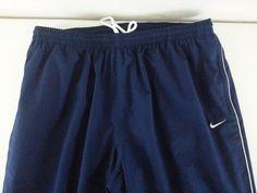 NIKE Men's Pants 2XL Sportswear Navy Blue Solid Inseam 33 Polyester EUC #Nike #CasualPants #ebay #Nike #CasualPants #2XL