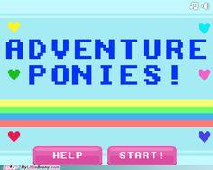 Adventure Ponies game ; the code is - HUBMLP8BIT