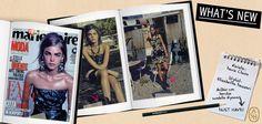 """L'anfibio con borchie Ryana è il protagonista del servizio """"Gipsy Queen"""" dell'ultimo numero di Marie Claire. Uno stivale adatto a mini abiti, leggings e pantaloni sgargianti. Il 'must' della stagione! Thanks to Massari Elisabetta!  #ashitalia"""