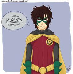 Nico dressed as Robin is so cute :)