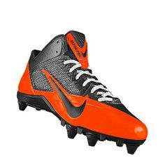 orange and black nike cleats Tacos De Fútbol a717d667a1d0a
