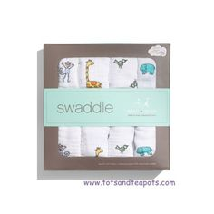 Aden and Anais Swaddle Muslin Blankets >>> Darling.
